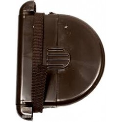 Cigarette case with belt rolls brown